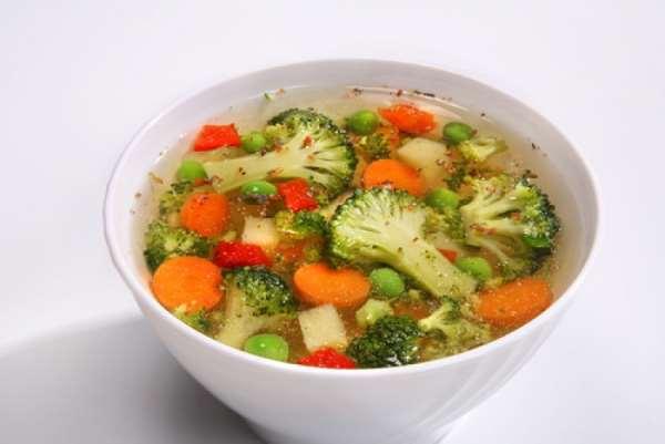 Польза для здоровья вегетарианского супа из брокколи