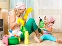 Виды профессиональных домашних уборок
