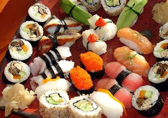 Как часто можно употреблять суши в пищу?