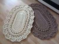 Вязание ковров и подушек крючком: где взять идеи?