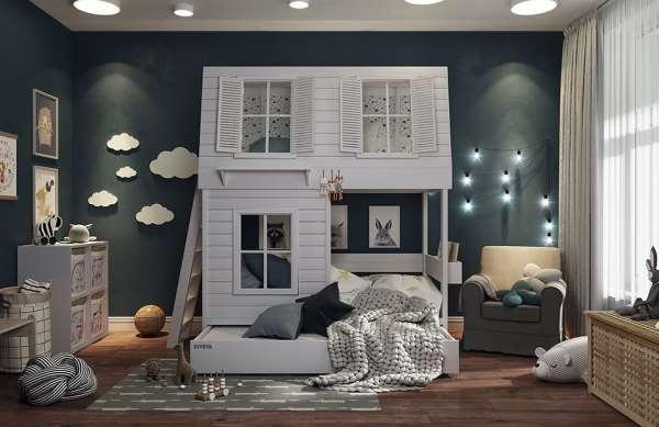 Высококачественные и современные кровати домики
