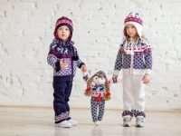 Детский вязанный трикотаж — стиль и комфорт