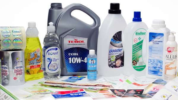 Экологичные этикетки для бытовой химии в МСК