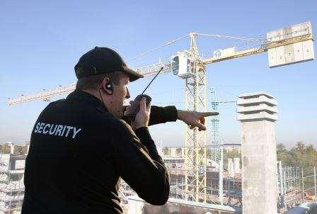 Охрана строительной техники — круглосуточная безопасность