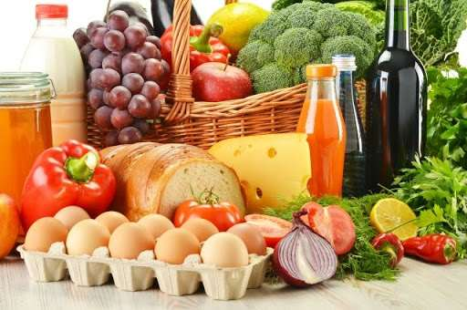 Большой выбор продуктов питания для магазинов