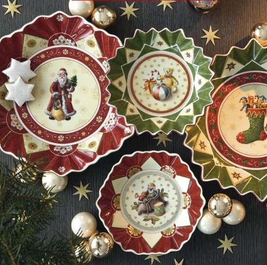 Оригинальность новогодних подарков из фарфора