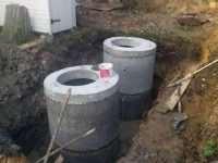 Септик из бетонных колец — быстрый монтаж