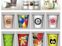 Сферы применения бумажных стаканчиков с логотипом