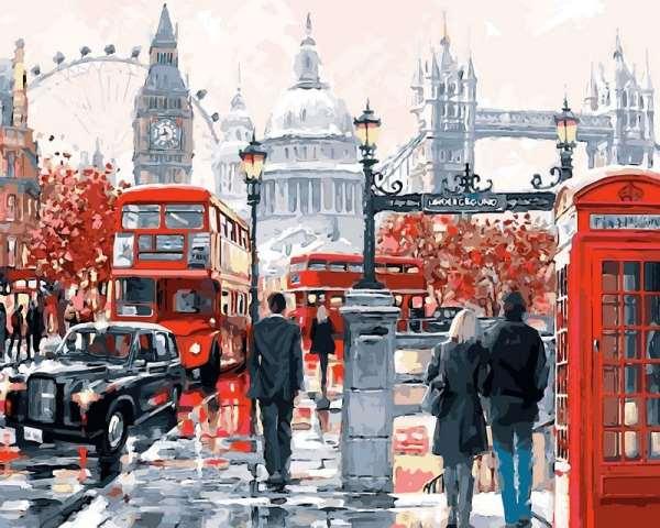 Картины по номерам с изображением Лондона