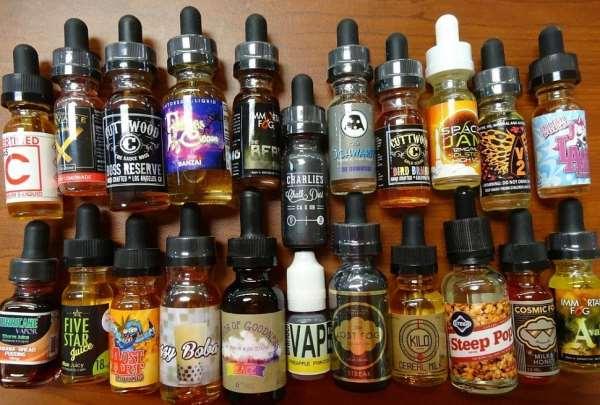 Многообразие типов жидкостей для электронной сигареты