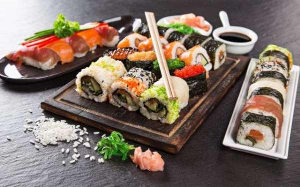 Суши сеты — вкусно и очень полезно