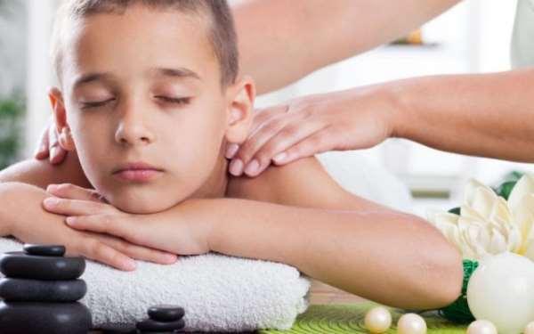 Детский массаж как средство от хронической усталости