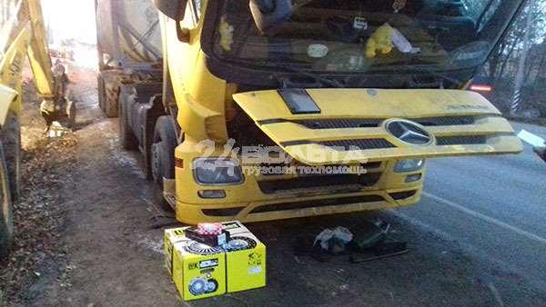 Услуги грузовой технической помощи на дороге