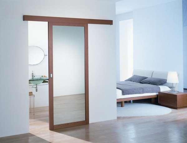 Практичные раздвижные межкомнатные двери