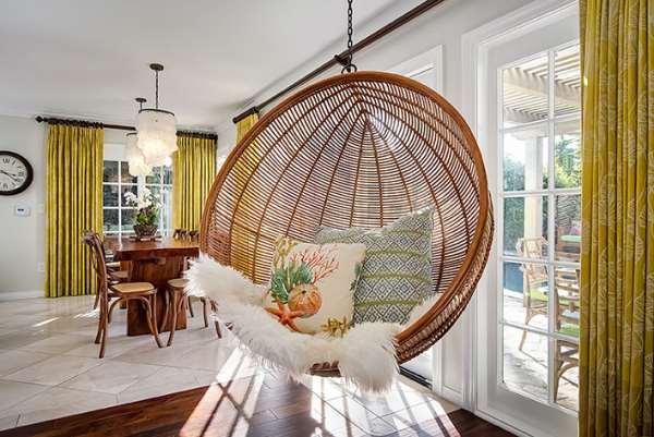 Как выбрать подвесное кресло из ротанга