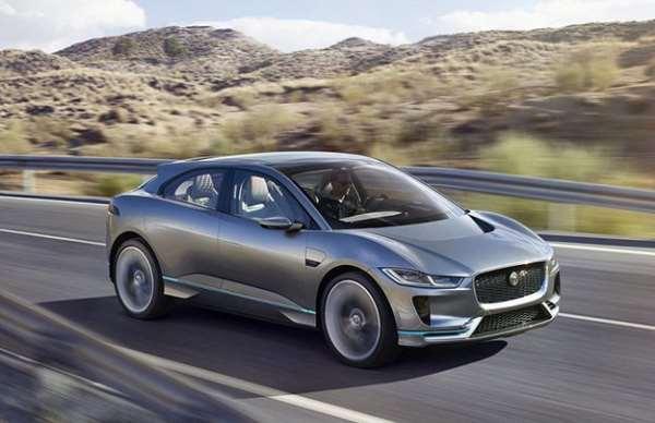 Jaguar представил электрический I Pace