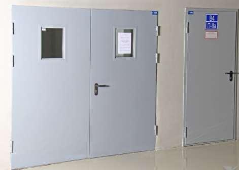 Технические особенности противопожарных дверей