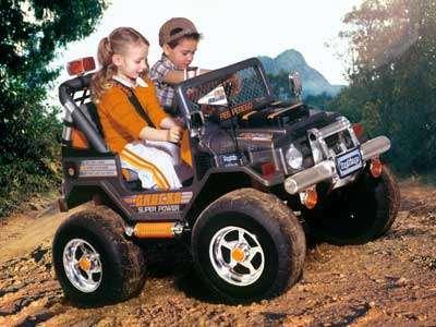 Возможности современных детских электромобилей